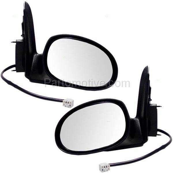 OE Replacement Chrysler PT Cruiser Driver Side Mirror Outside Rear View Unknown Partslink Number CH1320261