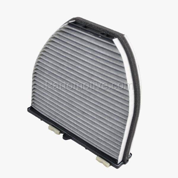 Carbon Style Interior Blower Cabin Air Filter for Mercedes Benz CL E S Class