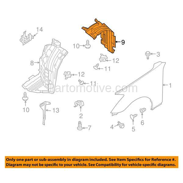 IFD-1564L 03-07 Infiniti G35 (Coupe 2-Door) Front (Rear