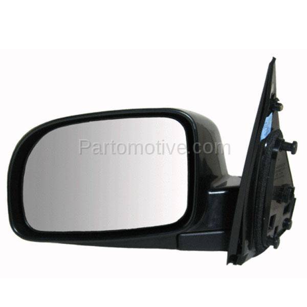 Drivers Side View Power Mirror Heated for 07-12 Hyundai Santa Fe 87610-0W000