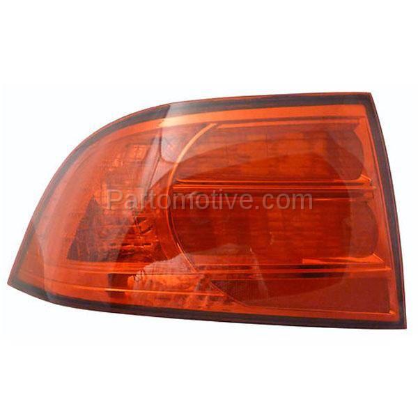 TLT-1131L 04-06 Acura TL Taillight Taillamp Rear Brake