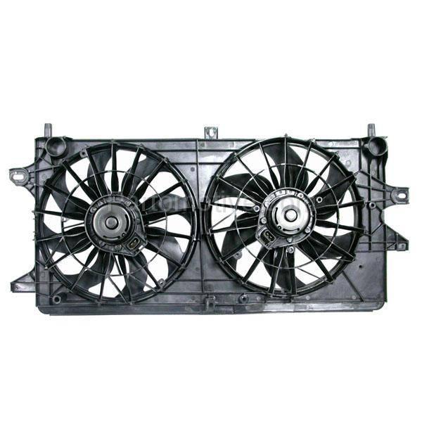 Dual Radiator Cooling Motor Blade Shroud Fan for Impala Monte Carlo 3.5L 3.9L