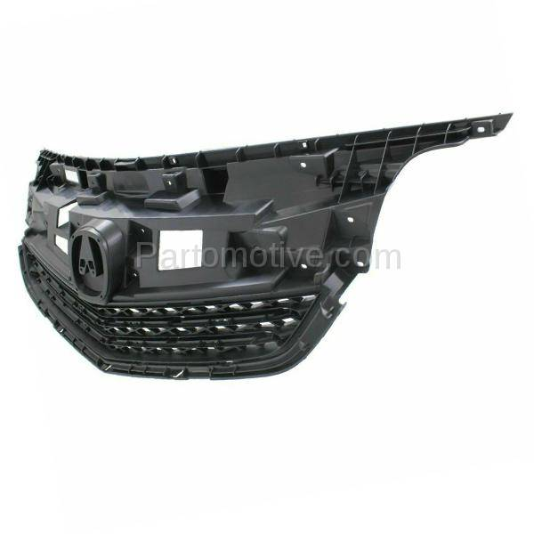 GRL-1179C CAPA 12-14 Acura TL Front Grill Grille Mounting