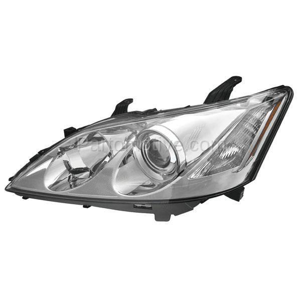 HLT-1544L 07-09 Lexus ES-350 Headlight Headlamp Halogen