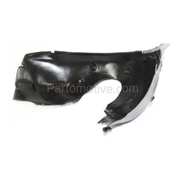 03-08 Z4 Front Splash Shield Inner Fender Liner Panel Passenger Side BM1249113