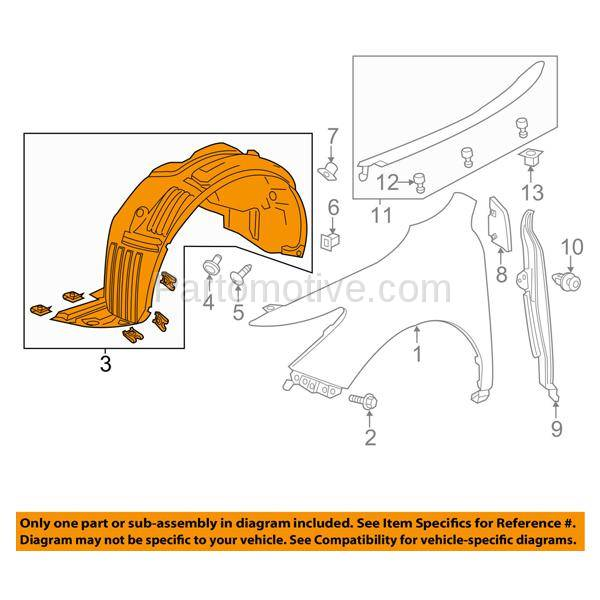 IFD-2110R 2014-2015 Acura MDX (without Lane Keep Assist