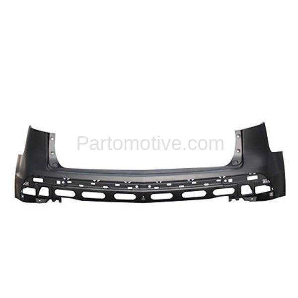 BUC-1036R 10-13 MDX Rear Bumper Cover Assembly W/Park