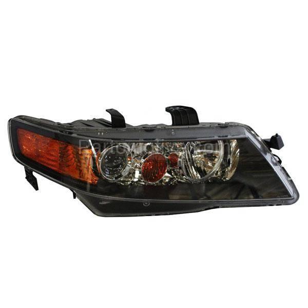 HLT-1461R 06-08 Acura TSX Headlight Headlamp Front Head