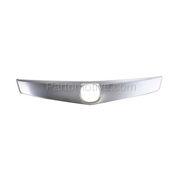 GRT-1006 09-10 TSX 4DR Front Upper Grille Trim Grill