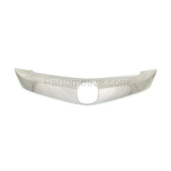 GRT-1012 14-16 MDX Front Upper Grille Trim Grill Molding W