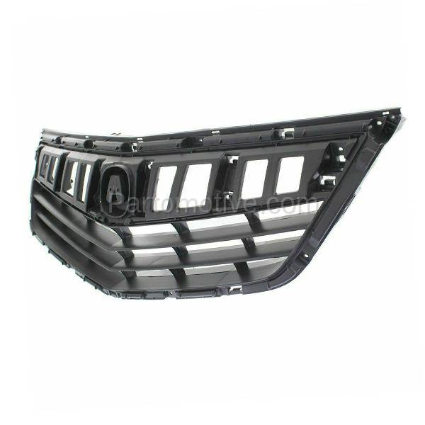 GRL-1176 11 12 13 14 TSX Sedan Front Face Bar Grill Grille