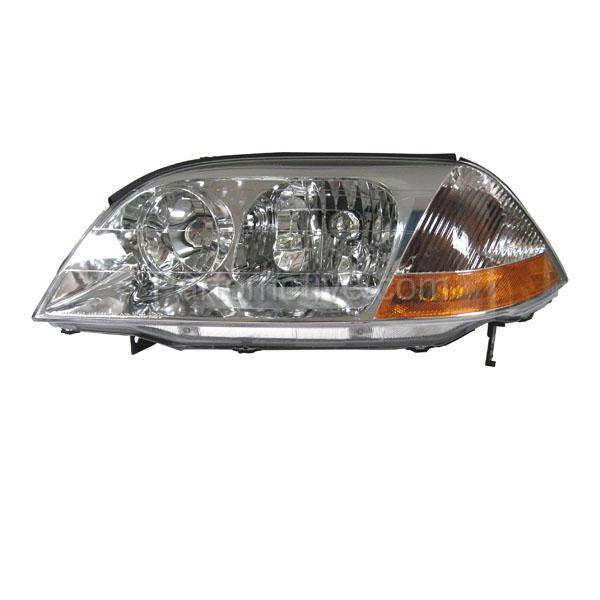 HLT-1181L 01-03 Acura MDX Headlight Headlamp Halogen Head