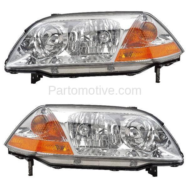 HLT-1181L & HLT-1181R 01-03 Acura MDX Headlight Headlamp