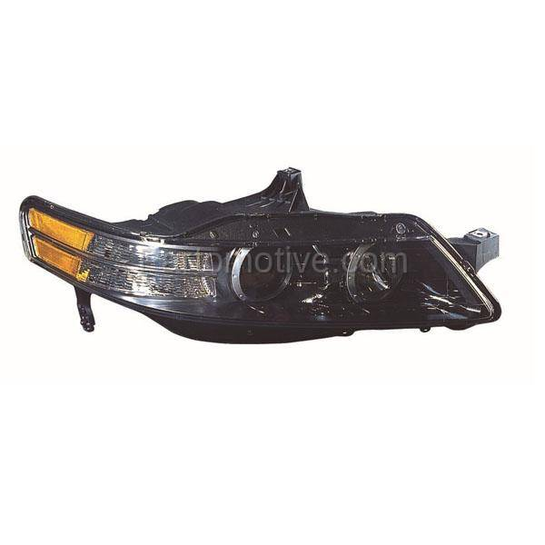 HLT-1926RT 07-08 Acura TL Type-S Headlight Headlamp HID