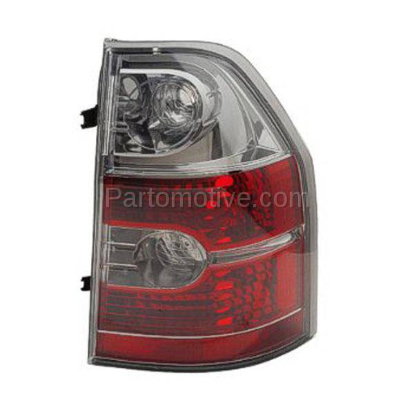 TLT-1141R 04-06 Acura MDX Taillight Taillamp Rear Brake