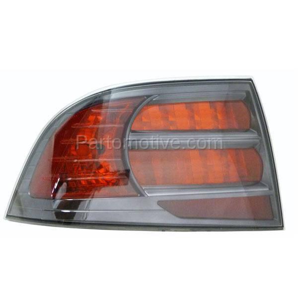 TLT-1334L 07-08 Acura TL Type S Taillight Taillamp Rear