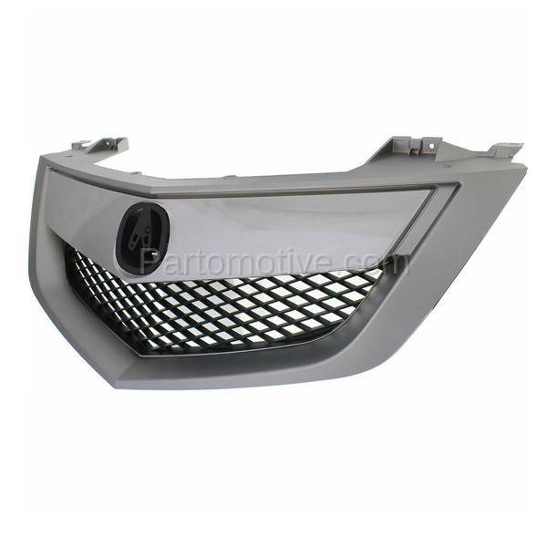 GRL-1173 NEW 10-13 MDX Front Face Bar Grill Grille