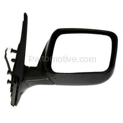 Aftermarket Replacement - MIR-2468R 2008-2013 Nissan Rogue & 2014 2015 Rogue Select Rear View Door Mirror Assembly Power, Manual Folding, Heated Paintable Right Passenger Side