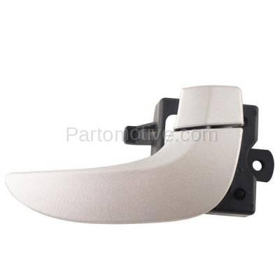 02-07 Rendezvous Inside Inner Front//Rear Chrome Door Handle Right Passenger Side