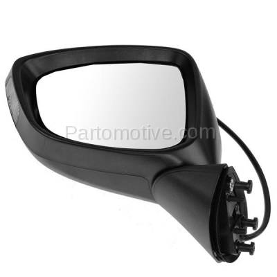 KV Power Rear View Door Mirror W//Glass+Housing Left Driver Side
