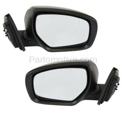 For 13-15 RAV-4 Power Heat w//LED Signal Lamp Manual Fold Mirror Right Passenger