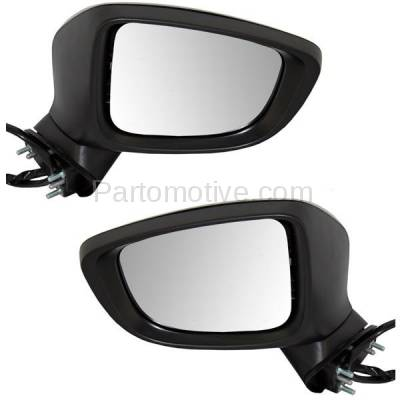 For 14-15 4Runner Power Heat w//o Puddle//Signal Lamp Mirror Left Right SET PAIR