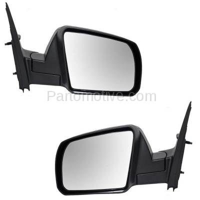 Power Non-Heated Folding Rear View Mirror Left Right Side SET PAIR For 07 Versa