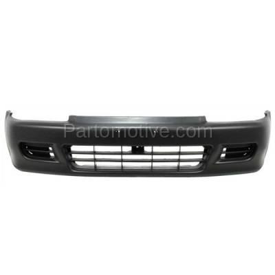 Fender For 1992-1995 Honda Civic Sedan Front Right Primed Steel w//Molding Holes