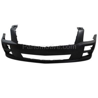 Aftermarket Replacement - BUC-1938FC CAPA 08-11 STS Front Bumper Cover Primed w/o Washer Holes GM1000874 19178894