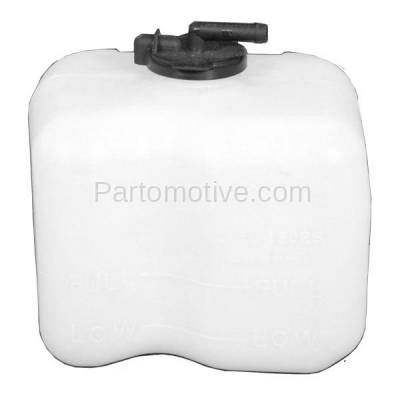 Coolant Reservoir Expansion Tank for Pathfinder 96-99 Qx4 97-00 W//Cap and Hose Plastic