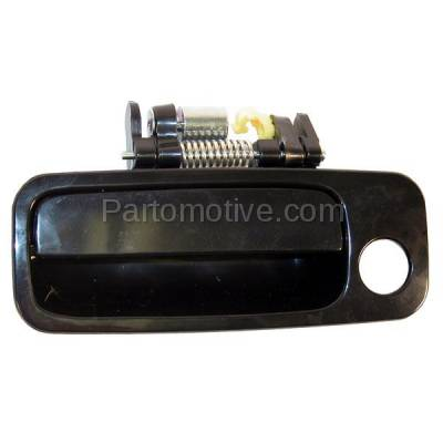 Dhe 1005l For 97 01 Camry Front Black Outside Outer
