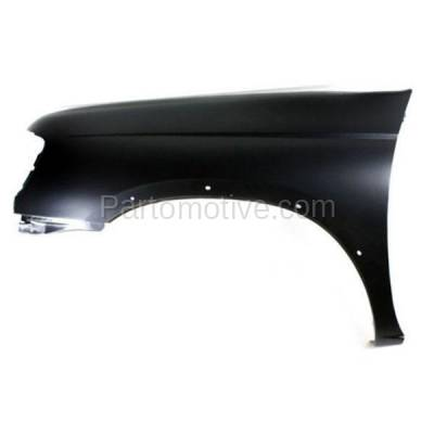 Aftermarket Replacement - FDR-1338L Front Fender Quarter Panel Driver Side For 98-00 Frontier Pickup Truck NI1240162