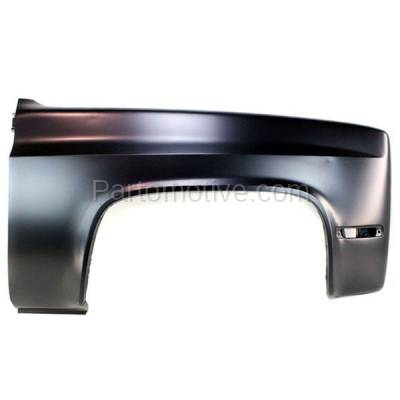 Aftermarket Replacement - FDR-1730R 81-91 Chevy C/K Truck Front Fender Quarter Panel Right Side GM1241131 15634642