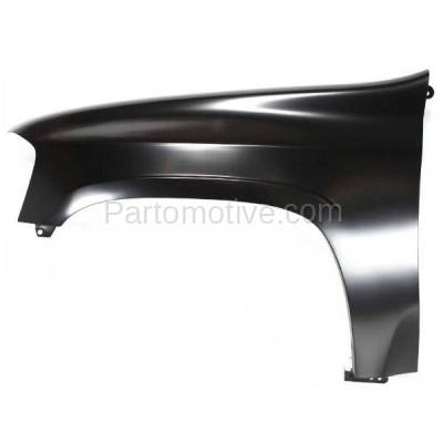 Aftermarket Replacement - FDR-1248L 02-09 Envoy & XUV Front Fender Quarter Panel Left Driver Side GM1240304 12477995