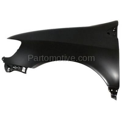 Aftermarket Replacement - FDR-1678L 98-03 Sienna Front Fender Quarter Panel Left Driver Side LH TO1240167 5380208902