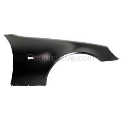 Aftermarket Replacement - FDR-1690R 98-04 SLK-Class Front Fender Quarter Panel Passenger Side MB1241122 1708800206