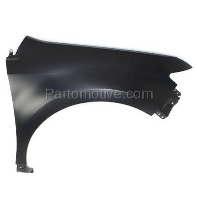 Aftermarket Replacement - FDR-1236R 07-10 Edge Front Fender Quarter Panel Right Passenger Side FO1241257 7T4Z16005A