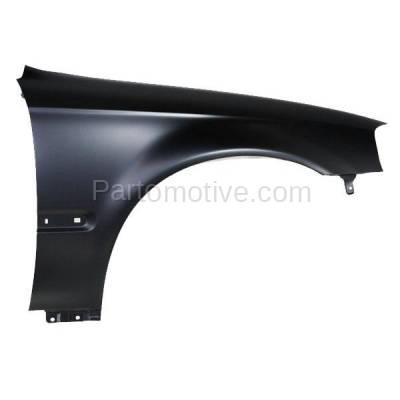 Aftermarket Replacement - FDR-1161R 99-00 Civic Front Fender Quarter Panel Passenger Side RH HO1241151 60211S01A10ZZ