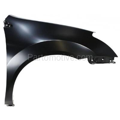 Aftermarket Replacement - FDR-1621R Front Fender Quarter Panel Passenger Side For 08-10 Rogue NI1241188 FCA00JM0MA