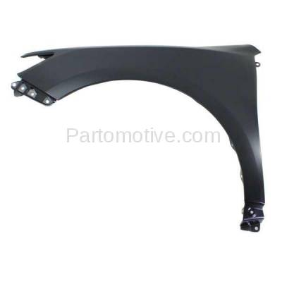 Aftermarket Replacement - FDR-1126L 12-14 Camry Front Fender Quarter Panel Left Driver Side LH TO1240239 5381206150