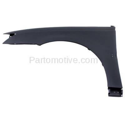 Aftermarket Replacement - FDR-1401L 03-07 Ion Sedan Front Fender Quarter Panel Left Driver Side GM1240294 15850405