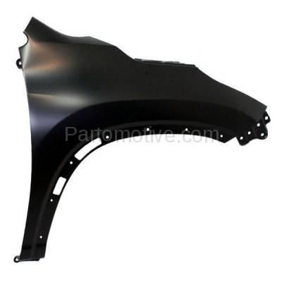 Aftermarket Replacement - FDR-1383R 14-16 Highlander Front Fender Quarter Panel Passenger Side TO1241251 538010E110