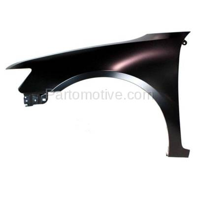 Aftermarket Replacement - FDR-1845L 06-09 Zephyr/MKZ Front Fender Quarter Panel Driver Side LH FO1240261 6H6Z16006AA