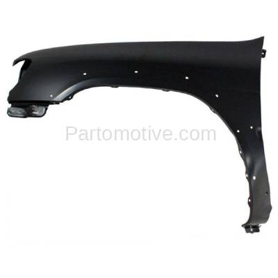 Aftermarket Replacement - FDR-1561L Front Fender Quarter Panel Driver Side For 99-02 Pathfinder NI1240173 F31012W635