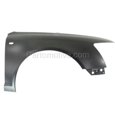 Aftermarket Replacement - FDR-1049R 06-08 A6 Front Fender Quarter Panel Right Passenger Side AU1241127 4F0821104APFM