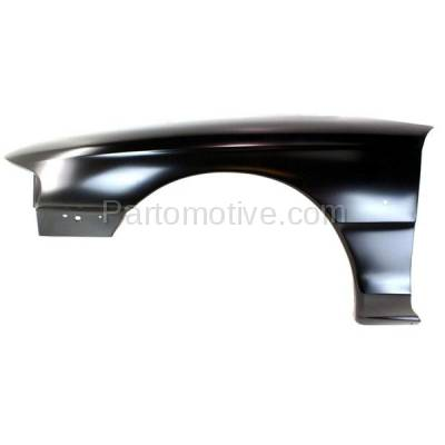 Aftermarket Replacement - FDR-1522L 94-98 Mustang Front Fender Quarter Panel Left Driver Side FO1240168 F6ZZ16006AA