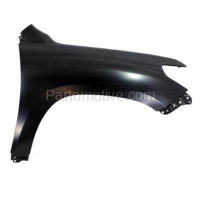 Aftermarket Replacement - FDR-1427R 08-15 Land Cruiser Front Fender Quarter Panel Right Side RH TO1241227 5380160B90