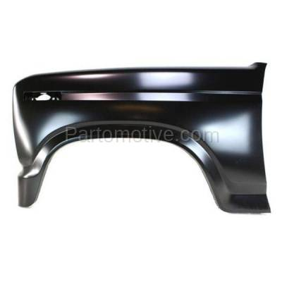 Aftermarket Replacement - FDR-1290L 80-86 F-Series Truck Front Fender Quarter Panel Driver Side FO1240107 E1TZ16006B