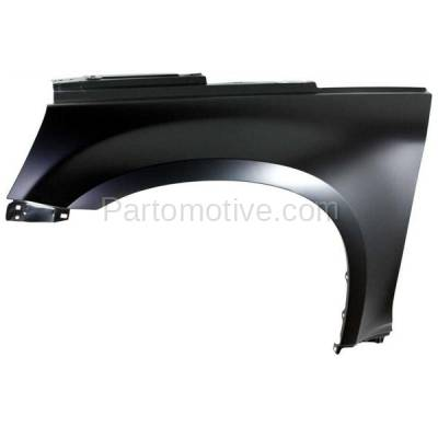 Aftermarket Replacement - FDR-1250L 05-09 Chevy Equinox Front Fender Quarter Panel Driver Side LH GM1240319 25849189