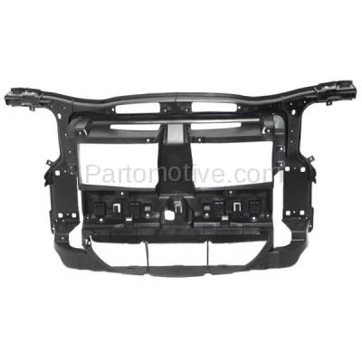 Aftermarket Replacement - RSP-1057 2012-2015 BMW X1 (2.0 & 3.0 Liter Engine) (without M Package) Front Center Radiator Support Core Assembly Primed Made of Plastic & Steel